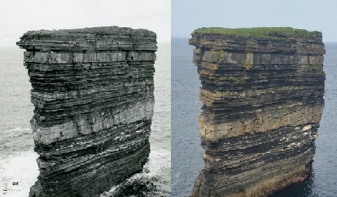 Erosion between 1968 and 2015
